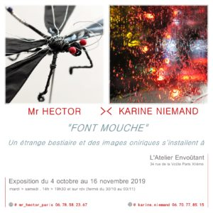 Exposition Mr HECTOR x Karine NIEMAND