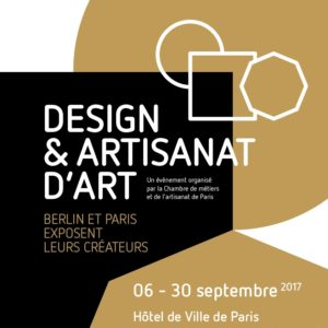 Expo Design Artisanat d'Art Hotel de Ville Paris 2017
